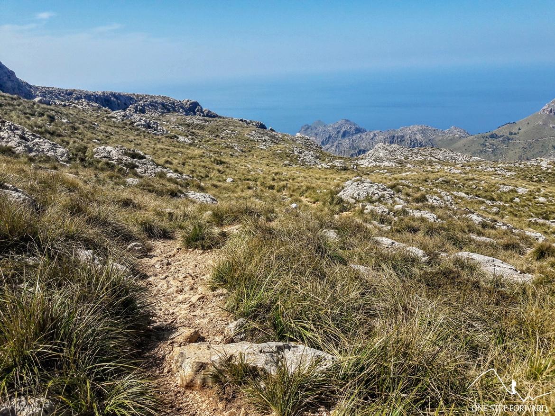 Trekking w górach Serra de Tramutanta, Majorka