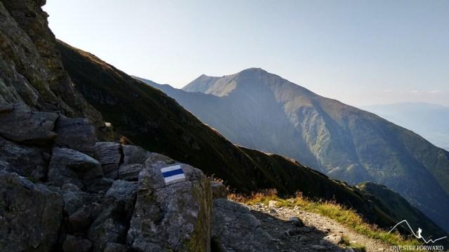 Baraniec i Szczerbawy - widok ze Smutnej Przełęczy