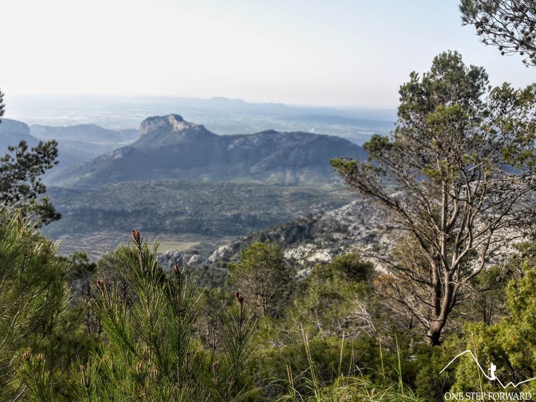 Powyżej przełęczy Coll L'Ofre - Ruta de Tres Miles, Majorka