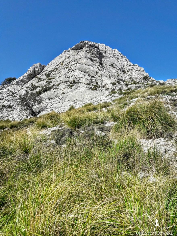 Formacja skalna - Ruta de Tres Miles, Majorka