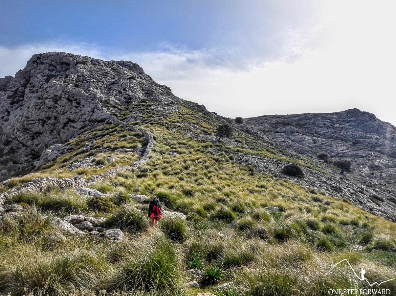 Przełęcz Coll de Gats (995 m n.p.m.) - Ruta de Tres Miles, Majorka- Ruta de Tres Miles, Majorka