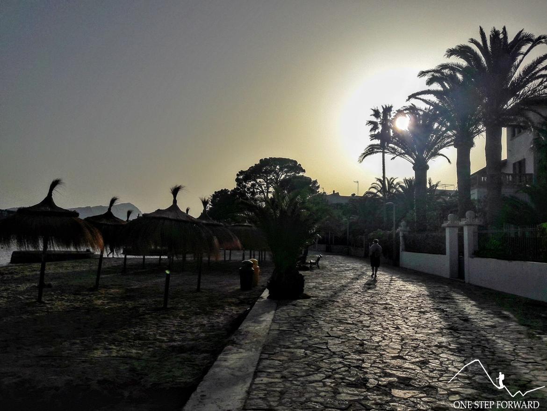 Port de Pollença - promenada