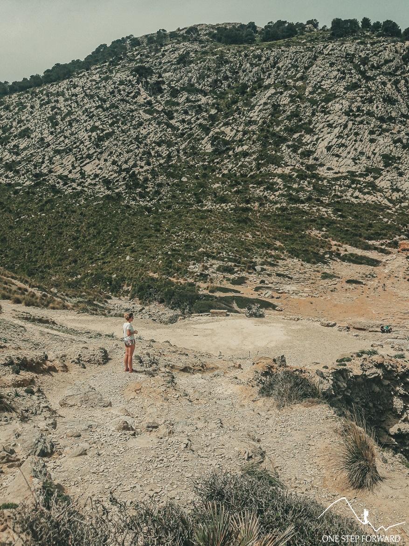 Zejście na Cala Figuera - Cap de Formentor, Majorka