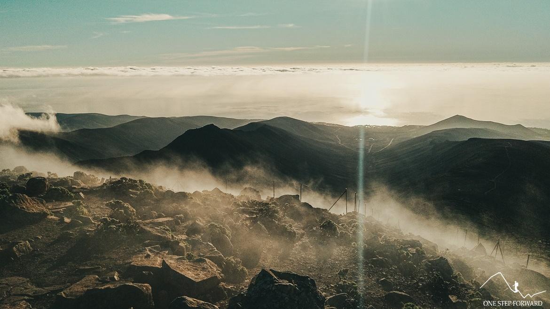 Fuerteventura - widok z Pico de la Zarza