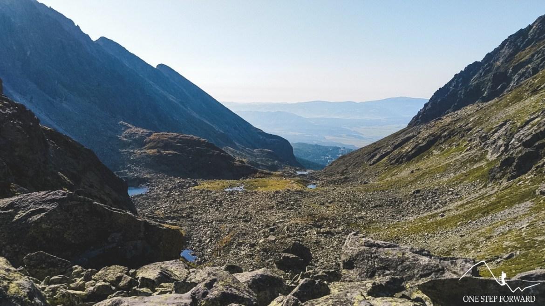 Dolina Młynicka - widok na Niżne Tatry