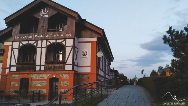 Stary Smokowiec - okolice parkingu