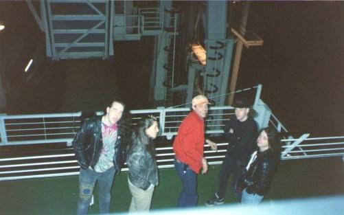 The ferry to Calais