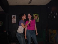 Karoke_lara_and_sarah