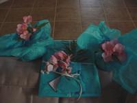 Secret_pal_wrapped_flowers