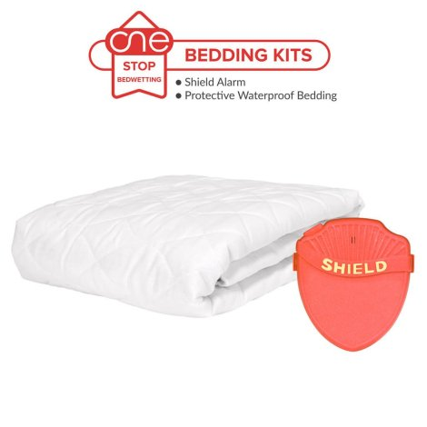 Shield Prime Bedwetting Alarm Bedding Kit - One Stop Bedwetting