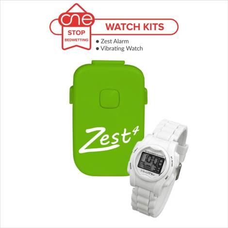 Zest Bedwetting Alarm Watch Kit - One Stop Bedwetting