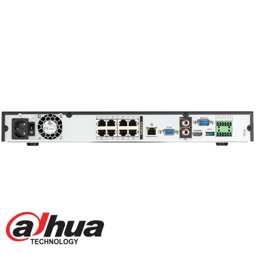 4K IP 8Ch NVR with PoE