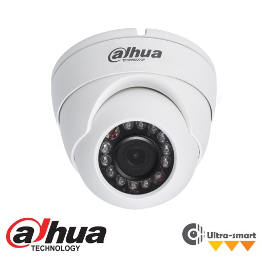 Dahua IP 4Mp WDR Ultra-Smart IR Mini Dome Camera - 2.8mm Lens