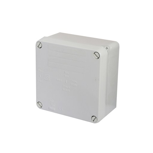 Medium IP65 Junction Box - Grey
