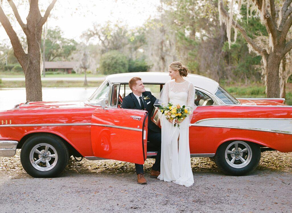 wedding car, rental car