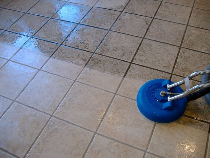 St. Andrews school Tile_Grout_Cleaning1