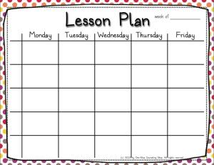 5 Lesson Plan