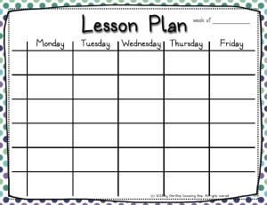 6 Lesson Plan