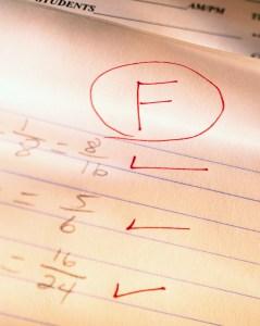 Failing Grade on Homework
