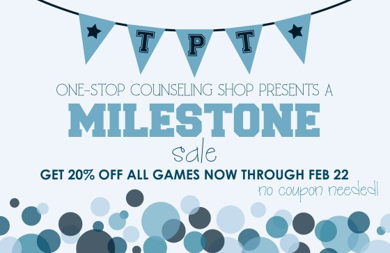 One-Stop Counseling Shop Celebration Sale