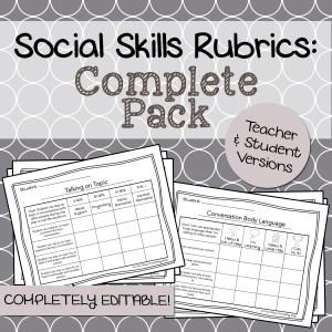 Social Skills Rubrics