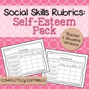 Self-Esteem Social Skills Rubrics