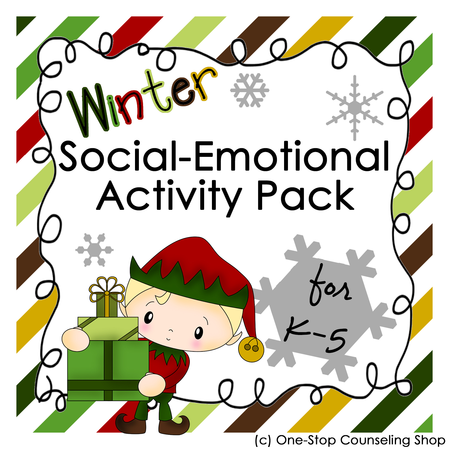 Product Update Winter Social Emotional Activity Pack