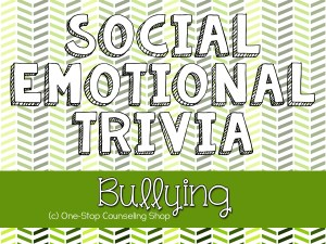 Bullying Trivia Game