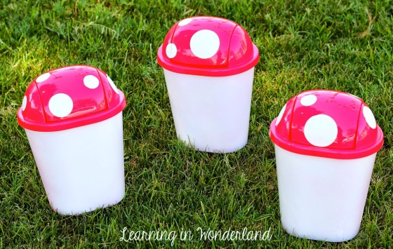 Adorable Garbage Cans