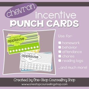 Chevron Incentive Punch Cards