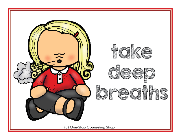 Calm Down Posters & Coloring Pages