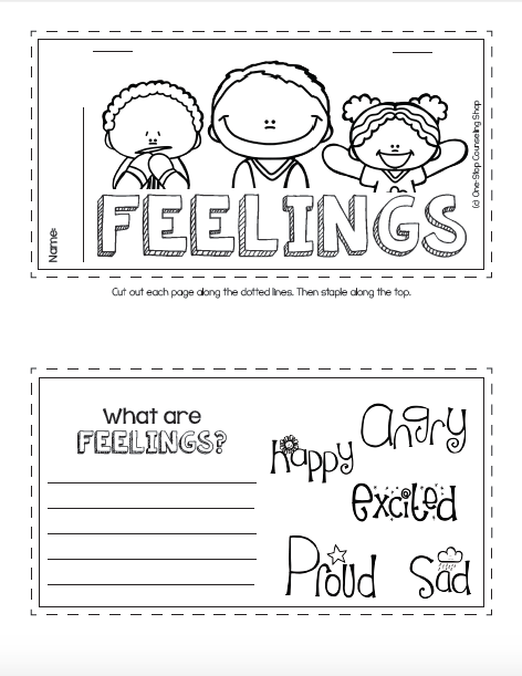 Feelings Tab Book