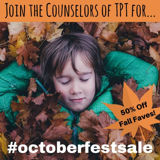 Counselors of TpT Fall Sale