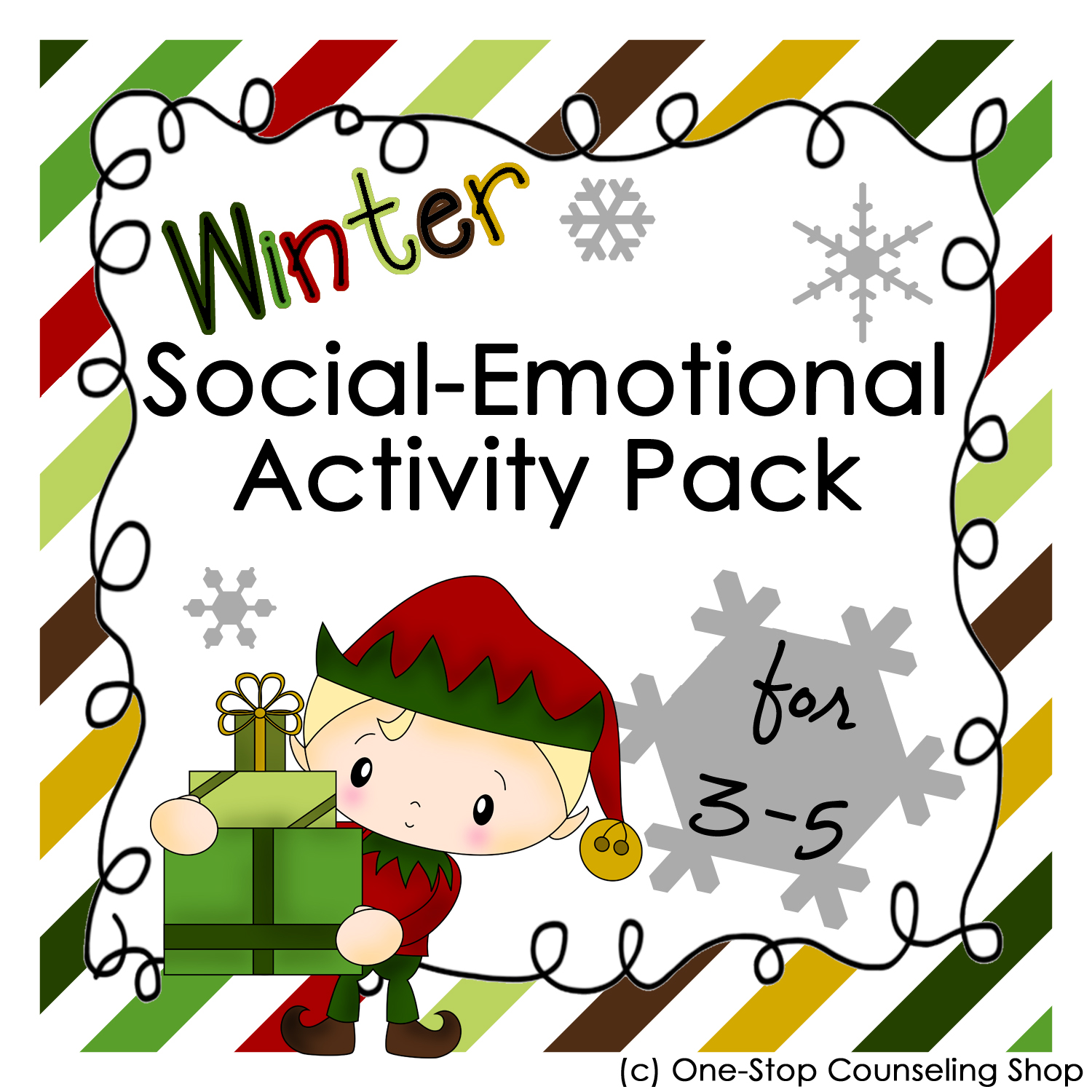 New Product Holiday Social Emotional Activity Pack