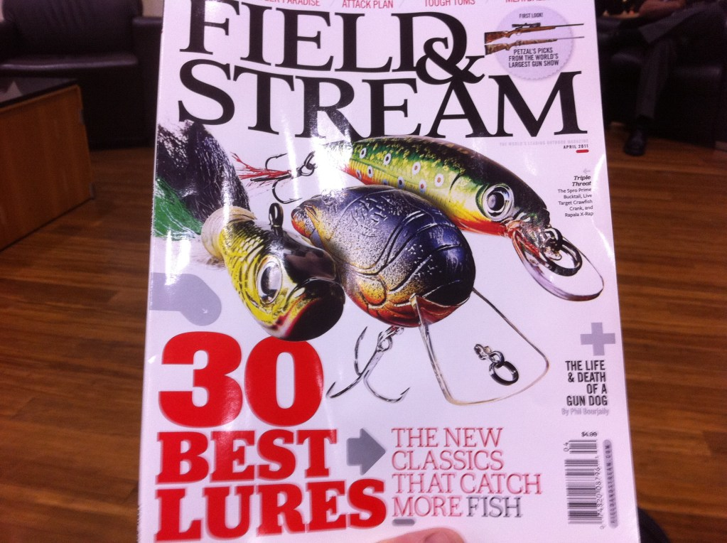 Invention Featured in Field and Stream!