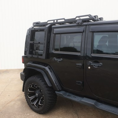 jeep wrangler jk roof rack stealth series