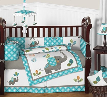 Animal Print Safari Jungle Crib