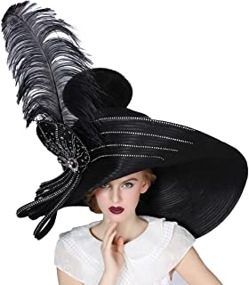 Large Derby Hat for Women