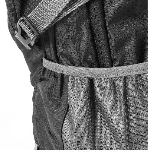 Image of back of travel backpack