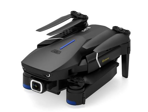 Lens of Foldable RC Drone Quadcopter Folded
