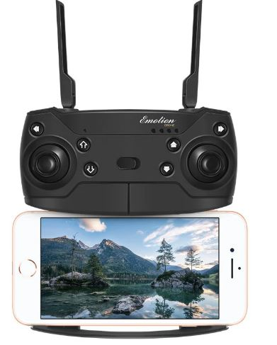 Drone controller and camera image