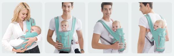 4 images of Baby Carrier functions