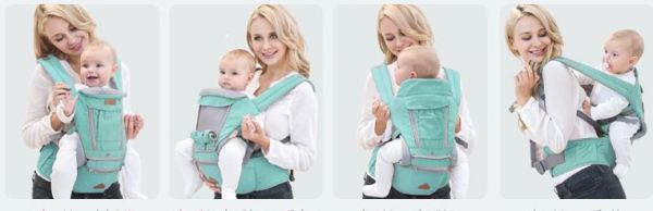 4 more functions of baby carrier