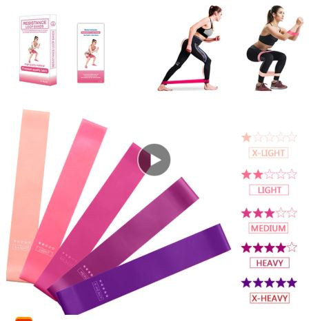 Five Different Resistance Bands