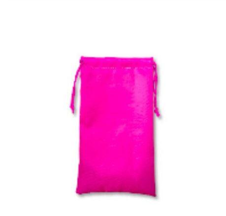 Pink Bag for Resistance Bands