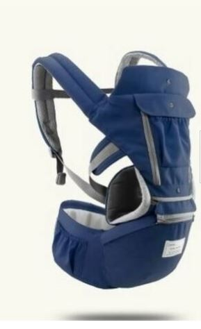 View of Navy Blue Color Baby Carrier