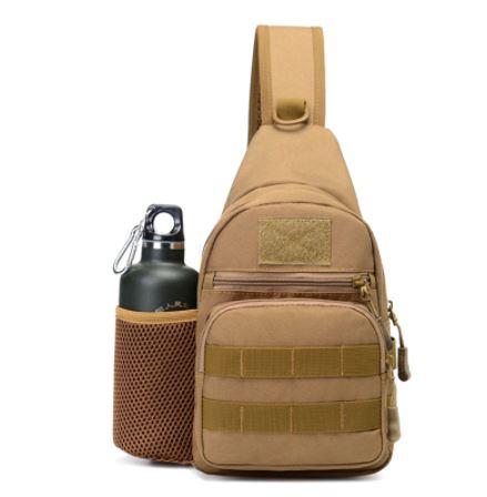 Borown color men's backpack