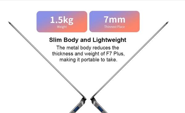 Lightweight and Slim Laptop computer