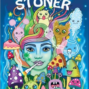 Stoner's Psychedlic Coloring Book For Adults Cover page image