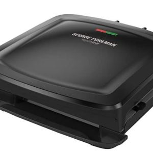 George Foreman Grill and Panini Press in Black
